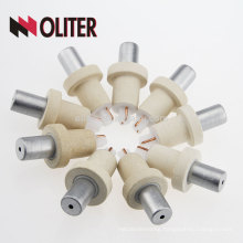 OLITER rapid reaction platinum phodium expendable hotsale type s disposable thermocouple with 604 triangle bottom manufacturer