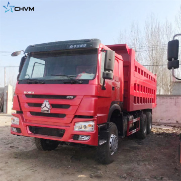 Camion benne SINOTRUK HOWO 6x4 371HP d'occasion
