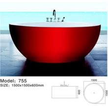 Baignoire acrylique portative unique de trempage