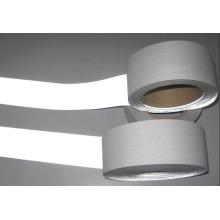 Серого цвета Светоотражающая лента с Полиэфиром выпечки Dft1202