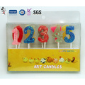 Wholesale Paraffin Wax Birthday Number Candle