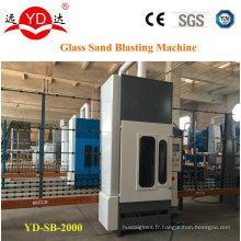 Machine verticale de soufflage de sable de verre de 2 mètres