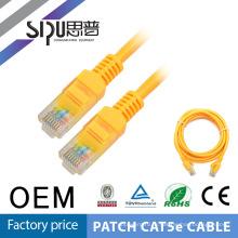 SIPU EXW новейшие профессиональные cat5e utp ethernet патч кабель высокого качества 100% компонент испытания cat6 1 м 2 м 3m 5m патч-корд