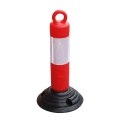 500mm rubber Base traffic delineator post
