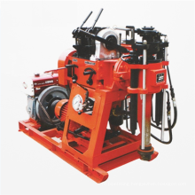 hydraulic diesel engine water well drilling rig machine construction machinery XY-1 for Indonesia