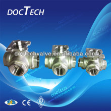 Stainless Steel 3-Way Ball Valve