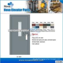 Semi- Automatic Door for Home Elevators