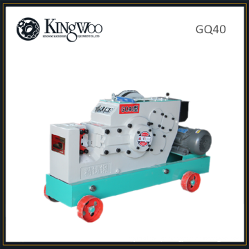 GQ40 Máquina de corte de vergalhões de cortador de barra de aço automático resistente