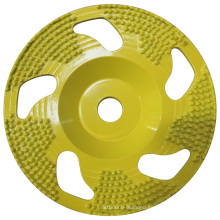 Diamond Brazed Cup Grinding Wheel for Concrete and Stone