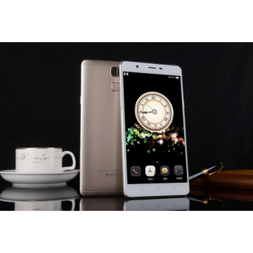 Hot Sell 5.5 pouces Android Smart Cell Phone Double carte SIM 3G WCDMA Lower End Model
