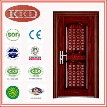 Puerta de acero de la seguridad KKD-707 para la entrada del apartamento con comunicación de puerta en puerta
