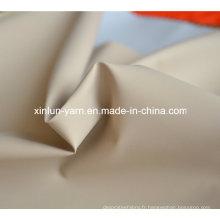 Tissu enduit d'élasthanne de nylon de haute qualité pour le sac
