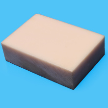 Placa de poliamidas grátis amostra Natural cor/branco MC
