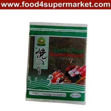 Seaweeds Rosted Nori Grade C 50 Sheet*80bags/CTN
