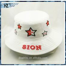 2016 Stil angepasst gedruckt Eimer Hut billig Preis in China gemacht