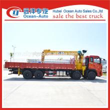 Chinês marca 8x4 caminhão hidráulico com grua