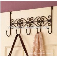5 hook over the door hanger rack for school and home application