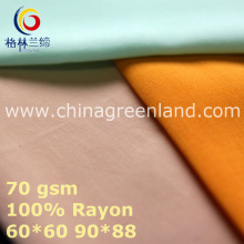 Plain Rayon Fabric for Woman Textile (GLLML440)