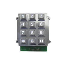3x4 zinc alloy industrial anti-vandalism access control digital keypad
