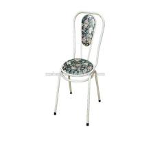 Chaise de barre de dossier, chaise de bar en métal, chaise à tube en acier à vendre