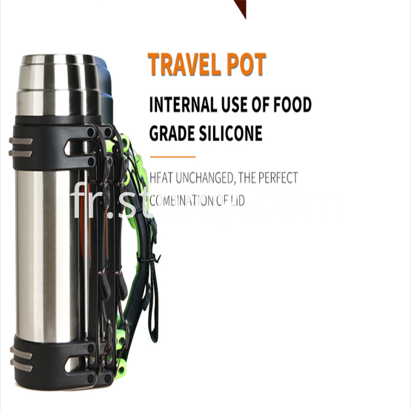 Insulation large double wall sports bottle