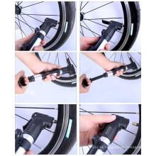 Bicicleta da superfície da liga colorida / inflador da bomba da mão da bicicleta mini
