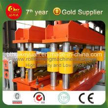 Machines de construction de carreaux émaillés en acier de couleur hydraulique