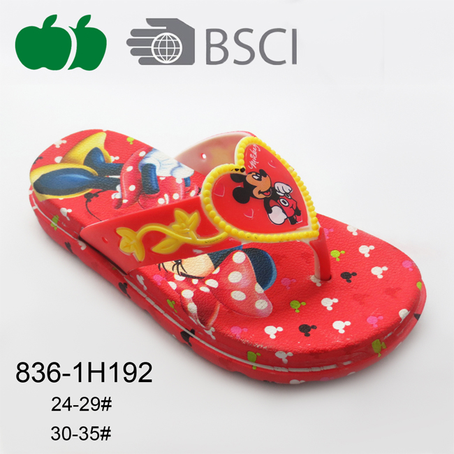 Popular Comfortable Good Quality Colorful Cute Kids Slippers