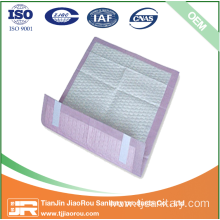 Disposable absorbent incontinence underpad