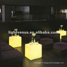 Nouveauté Led bar meubles décor party éclairage intelligent pour chaise de cube