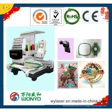 Вышивальная машина с одной головкой с лучшей ценой Wy1201CS / 1501CS / 1201cl / 1501cl