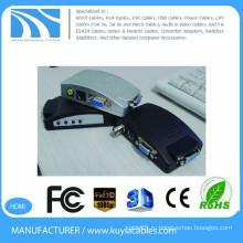 KUYIA ПК на ТВ конвертер VGA box для YPBPR ПК Ноутбук AV S видео для VGA конвертер TV конвертер Box