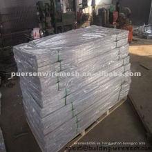 Panel de acoplamiento soldado galvanizado caliente 2.75mm