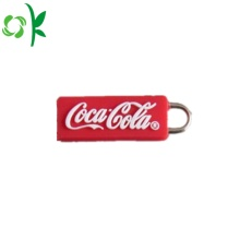 Christmas Decoration Silicone Zipper Puller for Bag