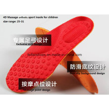 Арочные конструкции 4D Массаж комфортного передвижения спортивная обувь стельки для детей (FF628-2)