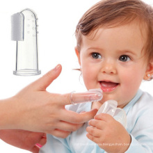 Hot design first toothbrush for baby silicone rubber baby finger toothbrush