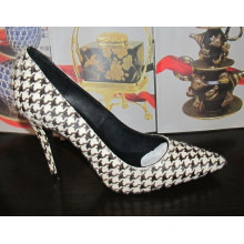 New Style High Heel Fashion Ladies Dress Shoes (HCY02-1440)