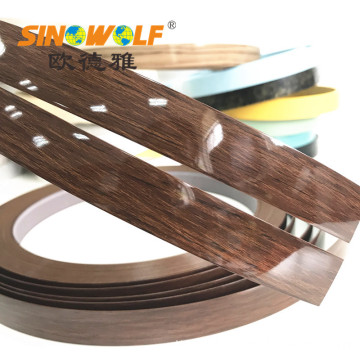 High Gloss PVC Edge Banding for Decoration