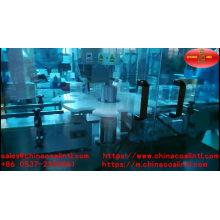 Automatische Parfümflasche 5-50ml, die das Verschließen und Etikettiermaschine füllt