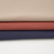 Tecido jacquard de poli algodão Span Interlock