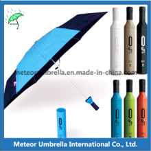 Fashion Promotion Gift Fashion Wine Bottle Parasol Umbrella