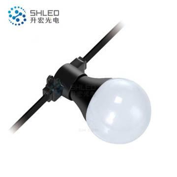 Iluminación de adorno de bombilla LED IP65 impermeable direccionable