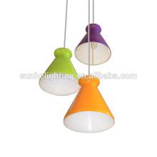 Moderne hängende Beleuchtung Stahl Kristall Beleuchtung Stahl Kristall Beleuchtung LED Kristall Pendelleuchten