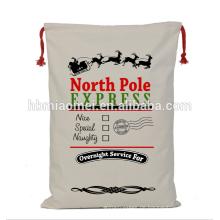 Kundenspezifische Sankt-Säcke druckten Weihnachtsgeschenk-Taschen