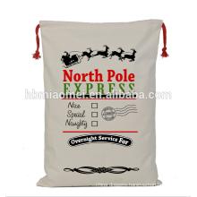 Customized Santa Sacks Printed Christmas Gift Bags