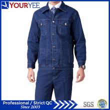 Combinaison uniforme de haute qualité pour jeans à vêtements abordables (YMU123)