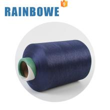 matière première colorée spandex air couvert fil chaussette à tricoter