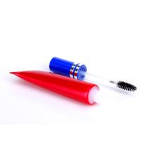 Косметические пластиковые трубки с аппликатором кисти