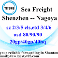 Shenzhen International Container Shipping naar Nagoya