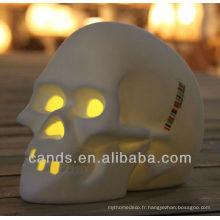 2013 nouvelle lampe de bureau colorée d'ampoule menée par crâne spécial